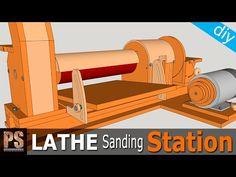 Estación de lijado para mi Torno: Calibradora Parte1 - YouTube
