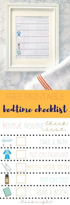 Bedtime Routine for Kids, Toddler Bedtime Routine, Printable Bedtime Routine; Bedtime Routine Checklist; Back to School Checklist; School Night Checklist; Nested Bean bag, Petite Plume Pajamas Gingham pajamas  Printable bedtime routine chart to help your