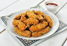 Pui crocant cu pesmet japonez Crispy Chicken Recipes, Fried Chicken, Recipe For 4, Food To Make, Ale, Foodies, Recipies, Food And Drink, Yummy Food
