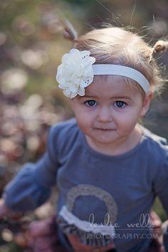 Ivory Baby Headband - Newborn Headbands - Baby Girl Headband - Children - Headbands - Photo Prop - Baby Shower - Girls on Etsy, $7.95