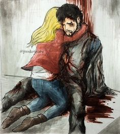 Fanart, once upon a time, and emma swan image Percy Jackson Nico, Cartoon Garden, Harry Potter Ships, Star Wars Pictures, Outlaw Queen, Colin O'donoghue, Captain Swan, Emma Swan, Markiplier