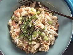 Japanese Seafood Risotto Recipe : Food Network - FoodNetwork.com