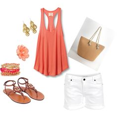 Sweet Summer, created by soonernic.polyvore.com