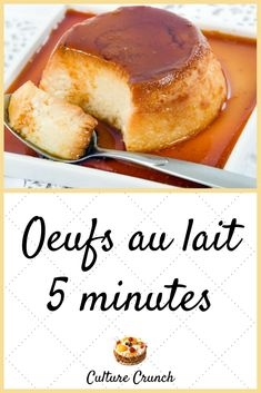 Dukan diet 853221091893096247 - Source by Ccrunchfr Desserts With Biscuits, Crockpot, Mousse, Creme Caramel, Good Food, Yummy Food, French Desserts, Cooking Chef, Mini Cheesecakes