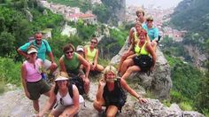 Amalfi Coast Hiking Tours Italy Video. On this walking tour you are rewarded with stunning views of the Mediterranean coastline whose 'Lattari' mountains rise nearly 5000ft steeply from the deep blue sea. Wildflowers such as Broom and Cistus rose decorate the hillsides in Spring and cyclamen carpet the woods in autumn. This Amalfi coast  tours Video shows our clients exploring some of the most breathtaking scenery and locations in the region of southern Italy, enjoy!