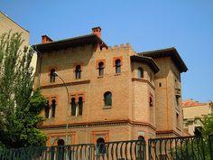 Palacete de Osma (Madrid). Madrid- SEÑOR DEL BIOMBO: LA ARQUITECTURA NEOMUDÉJAR