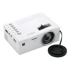amazones gadgets UNIC UC18 Mini LCD Projector 320 x 180 48 Lumens Remote Control: Bid: 68,73€ (£60.26) Buynow Price 68,73€ (£60.26)…
