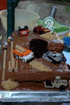 Digger cake!