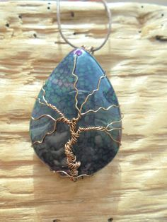 Hey, I found this really awesome Etsy listing at https://www.etsy.com/listing/261218919/wire-wrapped-tree-of-life-antique-bronze