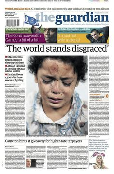 The Guardian on Gaza