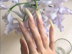 Natural Nails, Long Nails, Beautiful, Natural Looking Nails, Natural Color Nails