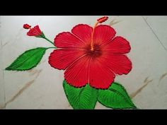 The purpose of rangoli is decoration, and it is thought to bring good luck. Rangoli is considered auspicious as it signifies showering of good luck and prosp. Easy Rangoli Designs Videos, Simple Rangoli Border Designs, Easy Rangoli Designs Diwali, Rangoli Designs Latest, Simple Rangoli Designs Images, Rangoli Designs Flower, Free Hand Rangoli Design, Small Rangoli Design, Rangoli Ideas