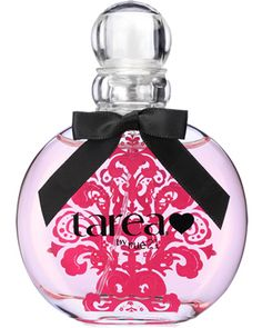 tarea  $9.99  Surround yourself with sparkling fruity pomegranates, apples   sand pears. Travel to a luscious garden with peonies and jasmine.  Lay down in delicate blonde woods and amber crystals.    Dare to Dream!    Available in a 1.7 oz. Spray Bottle