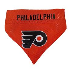 Philadelphia Flyers NHL Licensed Pets First Dog Pet Reversible Bandana 2  Sizes  PetsFirst  flyers 23ac2cb20