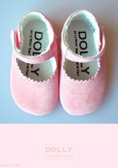 Dolly Mary Janes shoes on Le Petit Tom Baby Ballet Shoes, Girls Ballet Flats, Boy Shoes, Baby Girl Shoes, Girls Shoes, Italian Baby, Dolly Dress, Cheap Sneakers, Ballet Fashion