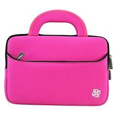 Sale Preis: Kozmicc 15 - 15.6 Inch Laptop Sleeve Case (Pink) w/ Handle [Fits Up To 15.5 x 11.25 Inch Laptops]. Gutscheine & Coole Geschenke für Frauen, Männer & Freunde. Kaufen auf http://coolegeschenkideen.de/kozmicc-15-15-6-inch-laptop-sleeve-case-pink-w-handle-fits-up-to-15-5-x-11-25-inch-laptops