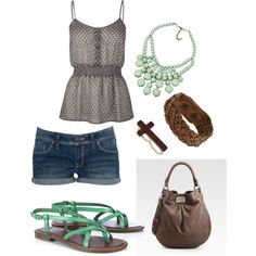 summertime, created by areyy on Polyvore