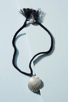 Venessa Arizaga Scallop Shell Necklace