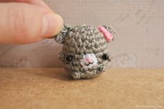 Hey, I found this really awesome Etsy listing at https://www.etsy.com/listing/179882507/mouse-kawaii-charm-amigurumi-keychain