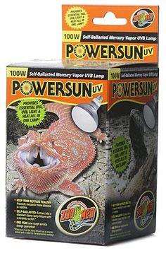 ZooMed Power Sun UV 100 Watt