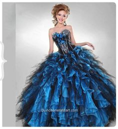 2014 Fashionable Sweetheart Multi-colored Quinceanera Dresses with Beading and Ruffles