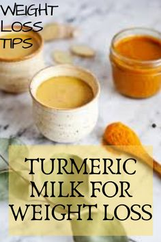 Today we are going to share a little secret, weight loss tips: tumeric milk for weight loss. In view of its many benefits, we are sure tha. Weight Loss Meals, Weight Loss Drinks, Weight Loss Smoothies, Best Weight Loss, Healthy Weight Loss, Weight Loss Tips, Weight Gain, Losing Weight, Loose Weight