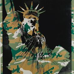 Andy Warhol - The Statue of Liberty, 1986 Andy Warhol Quotes, Andy Warhol Art, Pittsburgh, Eyes Closed, Pop Art Movement, Oeuvre D'art, American Artists, Yorkie, Printmaking