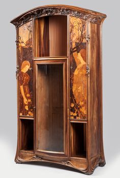 [Lot du jour] Que ce soit pour le néophyte ou le collectionneur éclairé… Art Nouveau Interior, Design Art Nouveau, Art Nouveau Furniture, Unique Furniture, Vintage Furniture, Belle Epoque, Muebles Art Deco, Jugendstil Design, Architecture