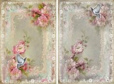 12-Etiquetas-Decorativas-Presente-Porta-joias-shabby-Cottage-Chic-Imagens-891-C