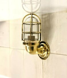 NAUTICAL SHIP SCONCE MARINE NEW SOLID BRASS WALL SWAN PASSAGEWAY BULKHEAD LIGHT