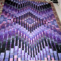 bargello Quilt top | Craftsy