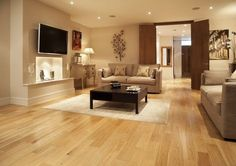 I like light timber floors and light furniture