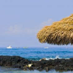 View of Kona Bay, Big Island Hawaii, United States