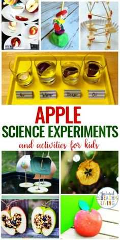 20+ Apple Science Experiments and Activities for Kids, Apple Science Preschoolers will love, Apple Theme Hands on Activities for Kids, Apple Projects for Kids and Science Activities with Real Apples, Perfect Fall Preschool Theme with activities for Apples #apples #appleactivities #preschool #kindergarten #scienceforkids