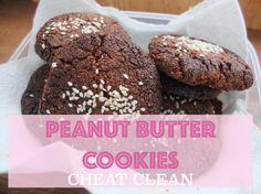 Cheat clean peanut butter cookies | Avoiding plane food