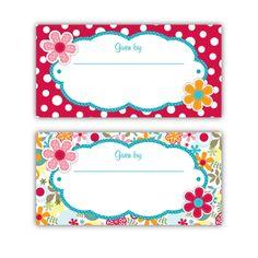 Cotton Tale Lizzie Bookplates – Ian & Lola Design Boutique