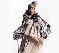 Fashion would be irrelevant without the eccentrics. Rest in peace Anna Piaggi.
