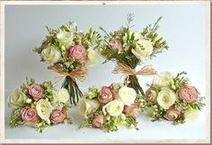 wedding bouquets, vintage china, vintage wedding flowers, vintage bridal ideas - too vintage?