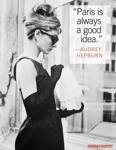7 of the Most Glamorous Audrey Hepburn Quotes - TownandCountrymag.com