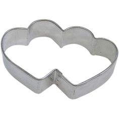 HEART DOUBLE cookie cutter 3.5 in. B1145X >>> See this awesome image @ : Baking Accessories