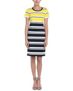 Spotted this Jones New York Stripe Dress on Rue La La. Shop (quickly!).