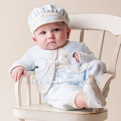 Baby Clothes For Boys. Congratulations for who will have a baby boy. It's time for you to prepare your baby boy clothes. Baby clothes for boys are Cute Baby Boy, Cute Babies, Baby Boys, Baby Boy Christening Outfit, Baby Baptism, Baptism Dress, Baby Outfits, Kids Outfits, Baby Dresses