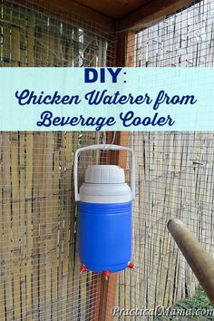 DIY: Chicken Waterer