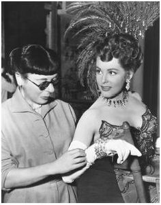 Edith Head (October 28, 1897 – October 24, 1981) was an American costume designer who won eight Academy Awards