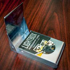 LightBox Photography Cards: Aluminium Card Case