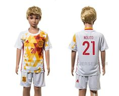 http://www.xjersey.com/spain-21-nolito-away-youth-euro-2016-jersey.html SPAIN 21 NOLITO AWAY YOUTH EURO 2016 JERSEY Only $35.00 , Free Shipping!