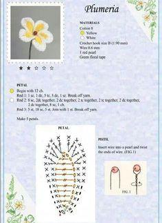 Watch The Video Splendid Crochet a Puff Flower Ideas. Wonderful Crochet a Puff Flower Ideas. Crochet Diagram, Crochet Chart, Crochet Motif, Diy Crochet, Irish Crochet, Crochet Puff Flower, Crochet Flower Tutorial, Crochet Leaves, Crochet Flower Patterns