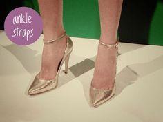 Ankle Straps #FallTrends #fashion