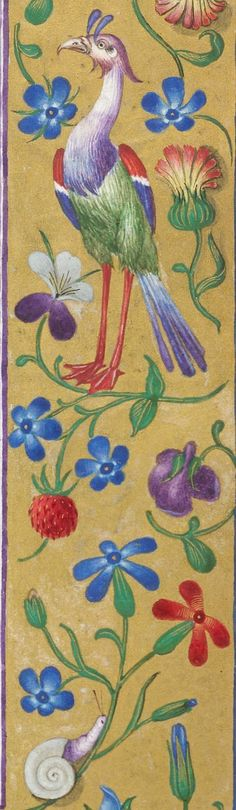 Border------Book of Hours, Use of Rome (the 'Hours of Bonaparte Ghislieri', formerly known as 'The Albani Hours') OriginItaly, N. (Bologna) Datec. 1500 LanguageLatin