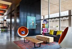 Modern Forward Design Lobby With Images Aloft Hotels Home